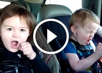 дети кайфуют от тяжелой музыки