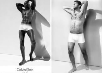 мужчины в белье от белье от Calvin Klein