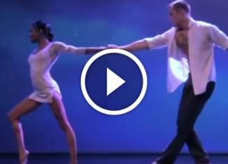 акробатический этюд о любви