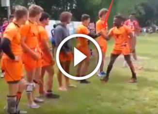 рукопожатие голландских спортсменов
