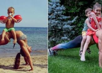 Фитнес-мамы