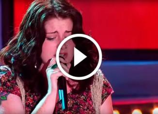 Девушка с необычным голосом