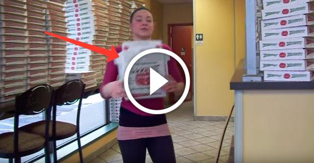 Быстрая сборщица коробок пиццы