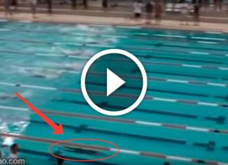 Уникальное достижение пловца