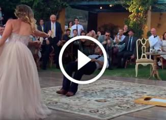 Крутой танец жениха и невесты