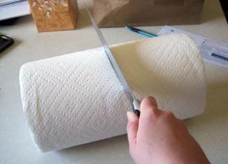 Как использовать бумажные полотенца