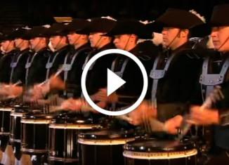 Швейцарский барабанный оркестр