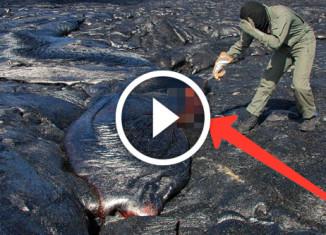 Как собирать вулканическую лаву