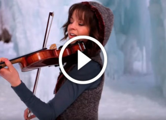 Виртуозная игра на скрипке