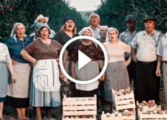 Show must go on в исполнении молдавских колхозников