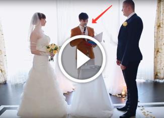 Предложение на свадьбе