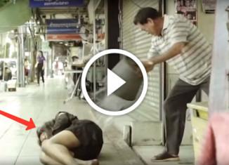 Трогательная реклама видеокамеры
