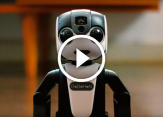 Японский робот-телефон