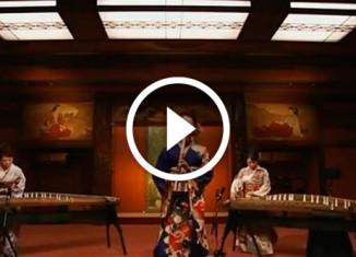 Японский кавер на Майкла Джексона