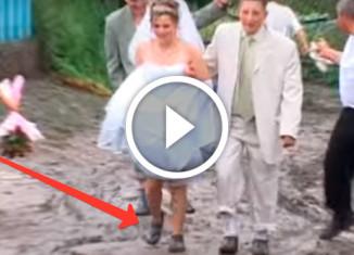 невеста в калошах