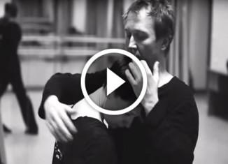 танец Чулпан Хаматовой и Евгения Миронова