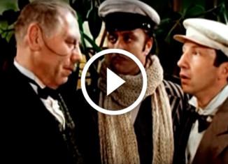 Советские актеры исполняют песню Цоя