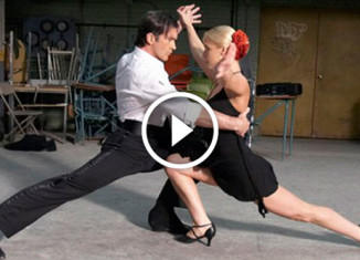 танго Антонио Бандераса и Кати Виршилас