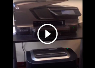 Как не нужно размещать офисное оборудование