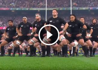 Танец новозеландской сборной