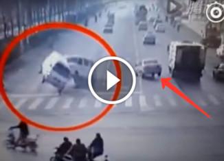 Очень загадочная авария