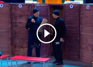 Грабители в раздевалке Уральские пельмени