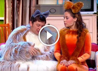 Кот и собачка Уральские пельмени