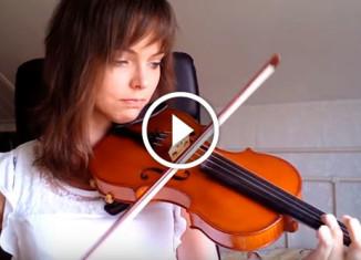 Прогресс обучения игры на скрипке