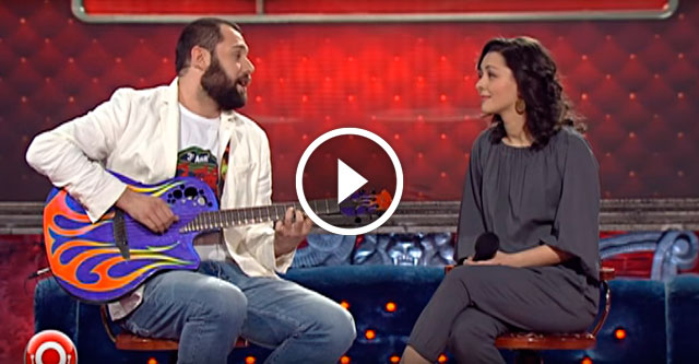 Семён Слепаков и Марина Кравец