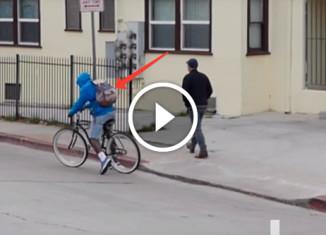 Велосипед с электрошокером