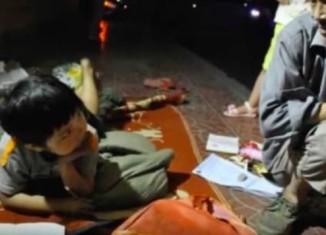Бездомный воспитал девочку