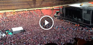 60000 человек спели Queen