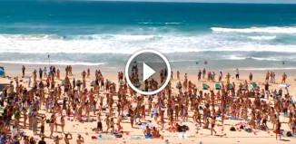 Израильский пляж