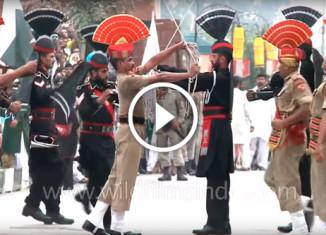 Смена караула в Индии