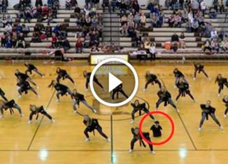Танцор без рук и ног