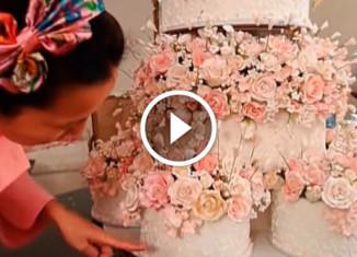 Торт на собственную свадьбу