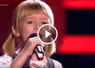 7-летняя девочка поет Кукушку