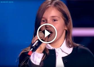 Девочка спела Scorpions