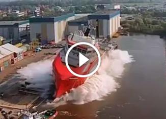 Спуск кораблей на воду