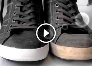 Как почистить кросовки