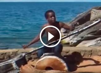 Музыкант из африки