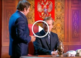 Путин и Медведев Уральские пельмени