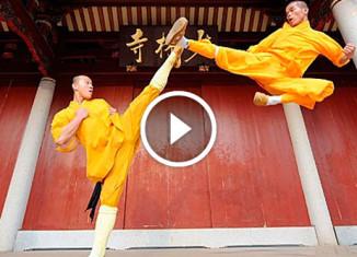 Возможности монахов шаолиня