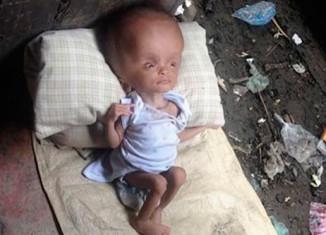 Младенец в мусорке