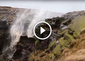Странный водопад