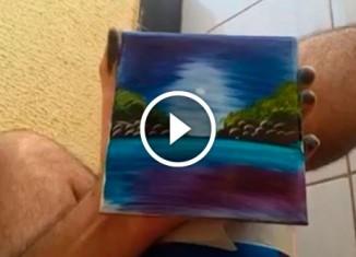 Рисунок на плитке