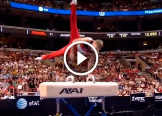 Самые сложные элементы в гимнастике