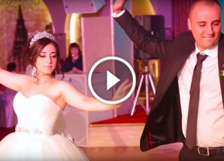 Армянский танец молодых
