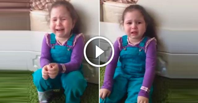 Девочка плачет по жениху