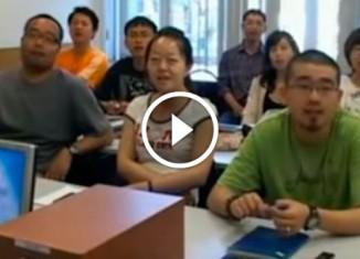 Китайцы поют Антошку
